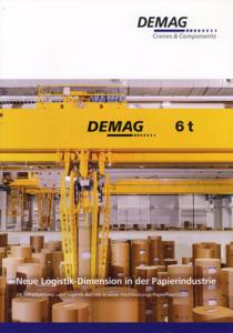 Printwerbung – Broschüre DEMAG Cranes & Components