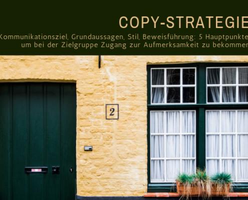 Copy-Strategie / copy strategy