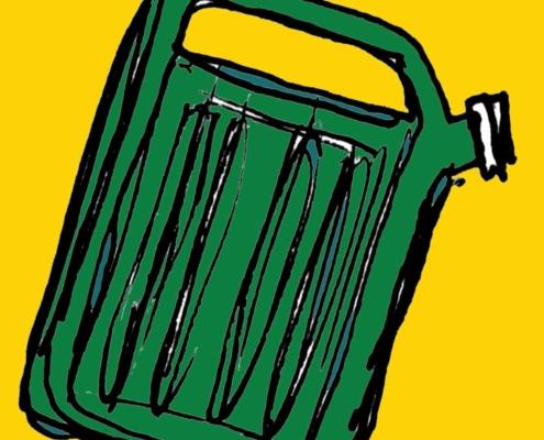 Treibstoff-Kanister Bild Website-Ranking-Blogartikel