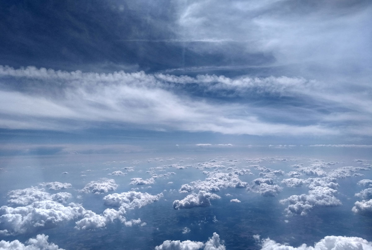 seo – aus der Sicht über den wolken