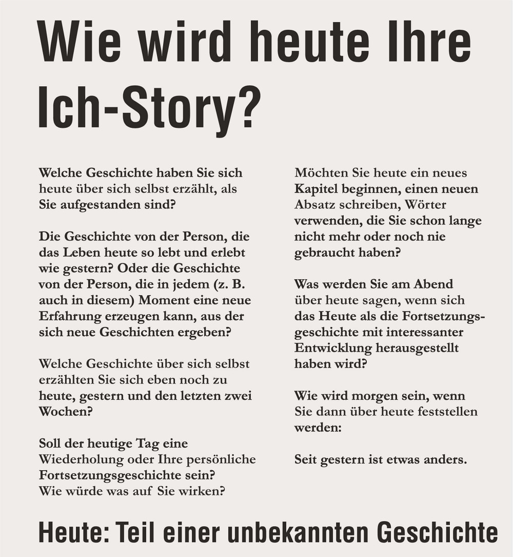 Ich-Story Storytelling